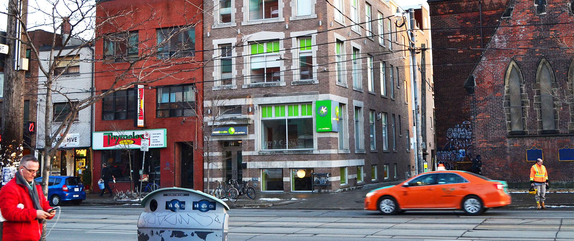 Toronto hostelis