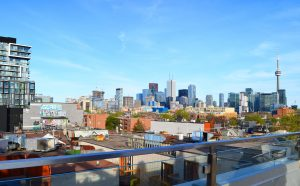 Toronto View from rooftop