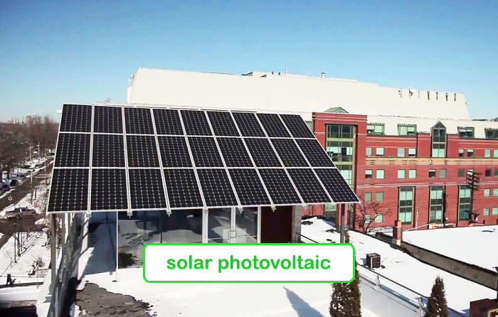 Solar photovoltaic panels - Planet Traveler Hostel Toronto