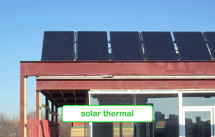 Solar thermal - Planet Traveler Hostel Toronto
