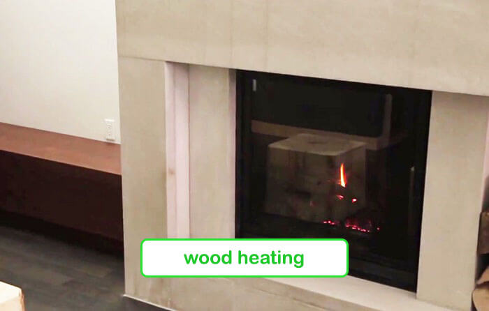 Wood heating - Planet Traveler Hostel Toronto